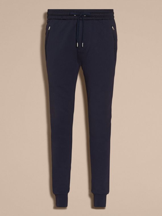 Cotton Sweat pants Navy - cell image 3