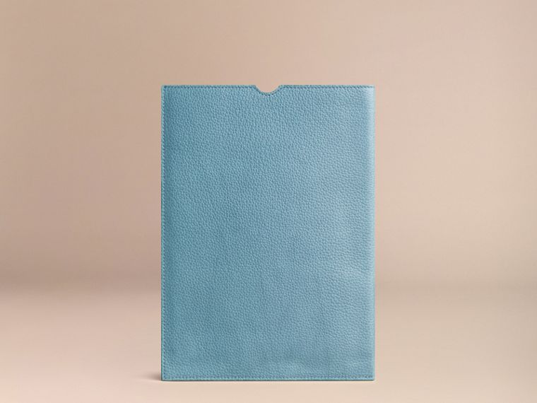 Dusty teal Grainy Leather iPad Case Dusty Teal - cell image 1