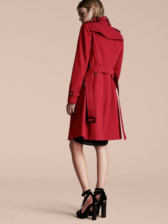 Parade red The Sandringham  – Long Heritage Trench Coat - cell image 2