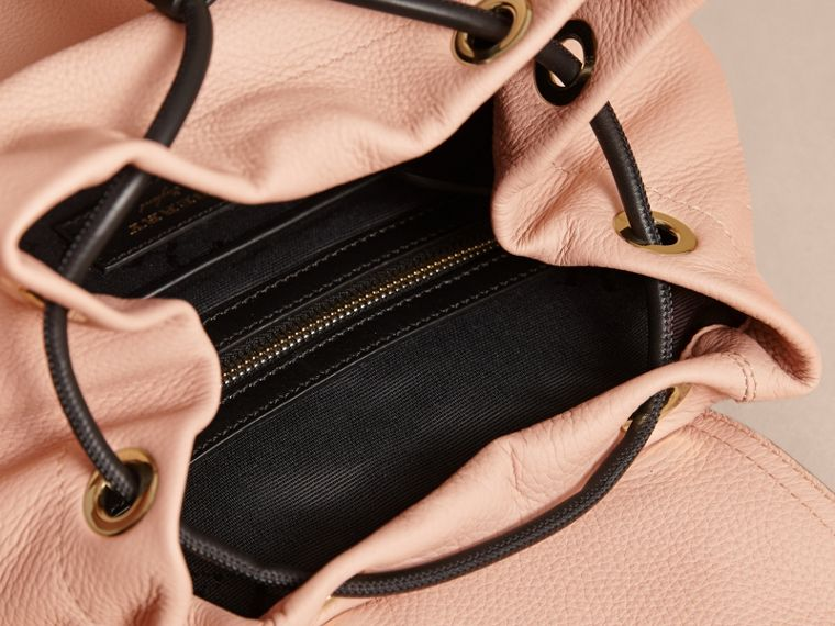 The Medium Rucksack in Deerskin with Resin Chain in Pale Apricot - Women | Burberry Australia - cell image 4