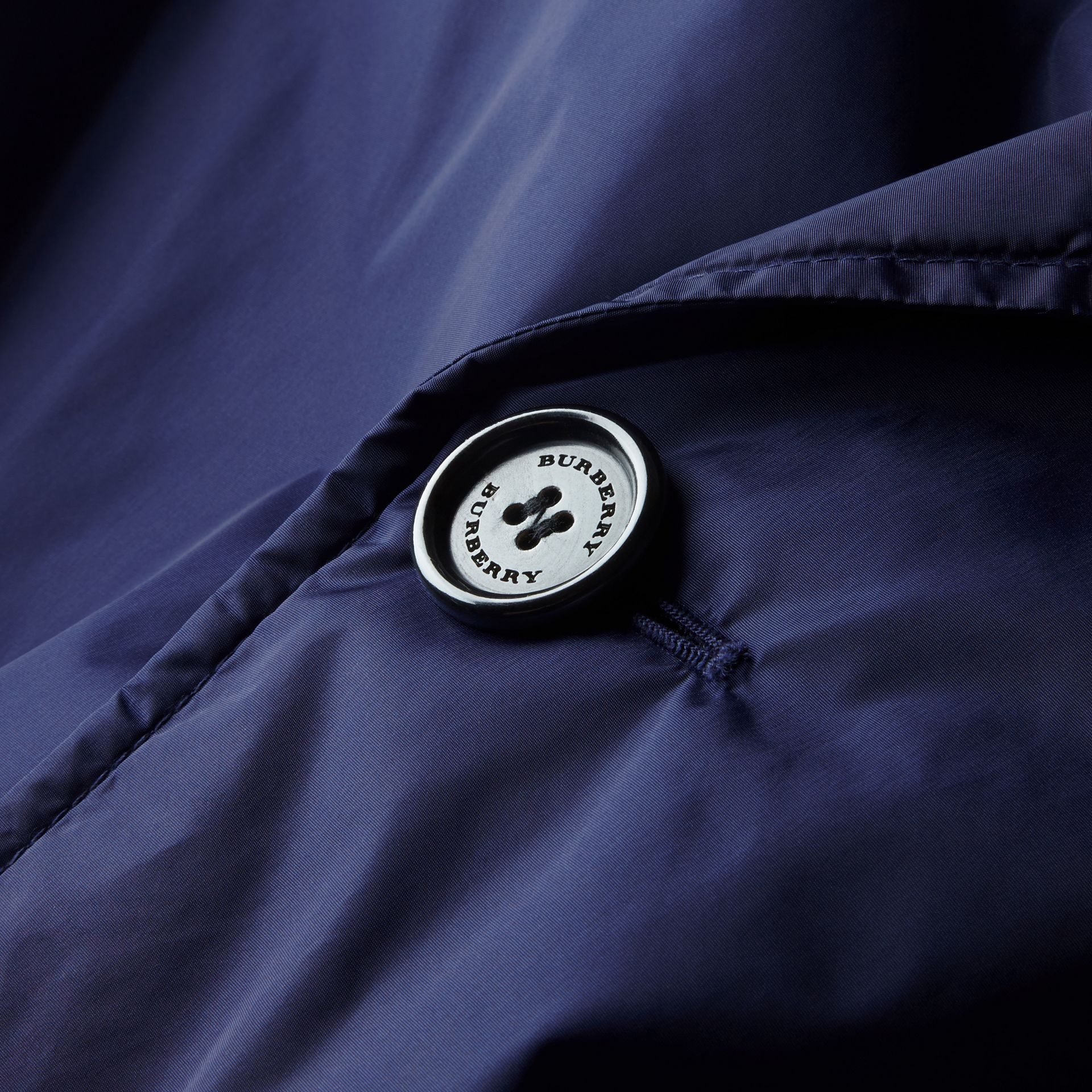 Showerproof Technical Trench Coat with Detachable Warmer - gallery image 2