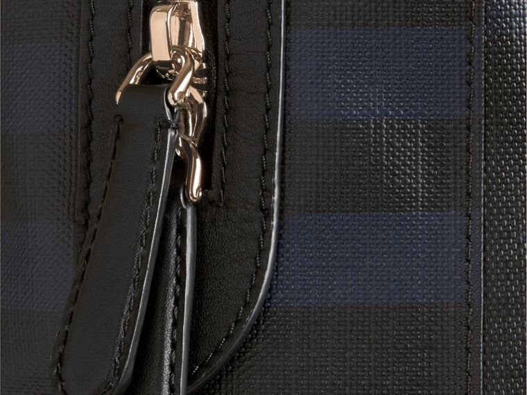 Navy/black London Check Backpack Navy/black - cell image 1