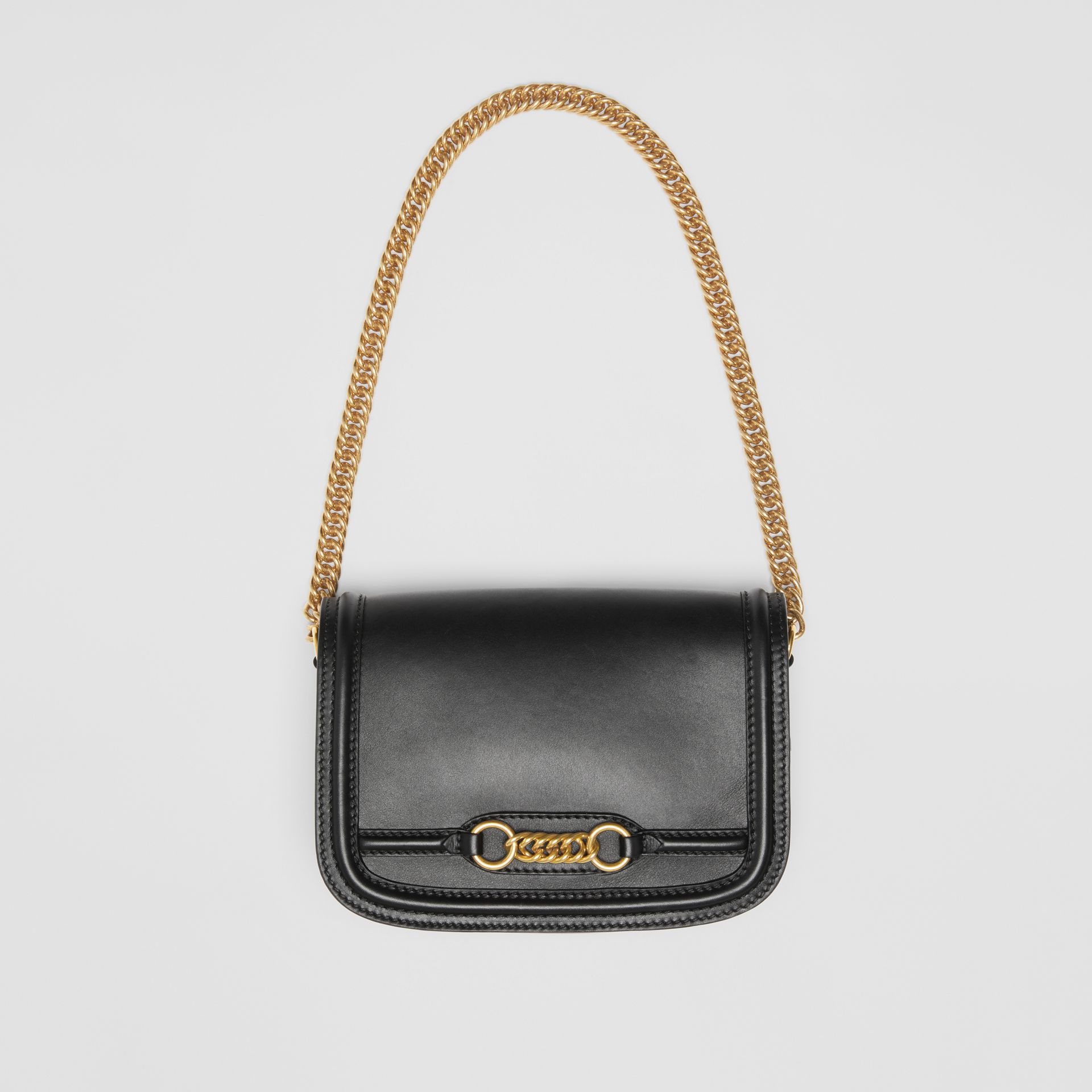 The Leather Link Bag in Black - Women | Burberry United States - gallery image 2