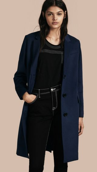 Cashmere Tailored Coat