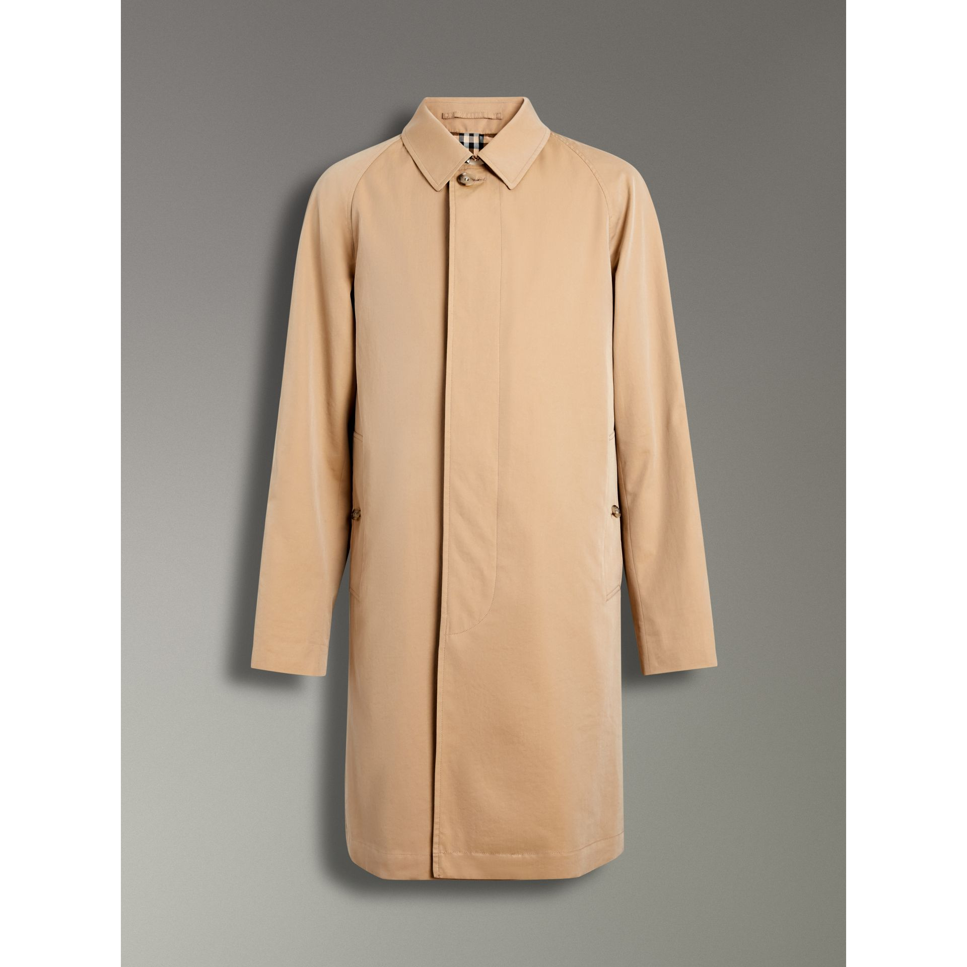 The Camden Car Coat in Honey - Men | Burberry United States - gallery image 3