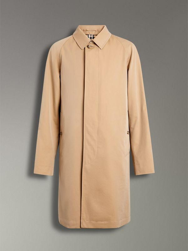 The Camden Car Coat in Honey - Men | Burberry United States - cell image 3