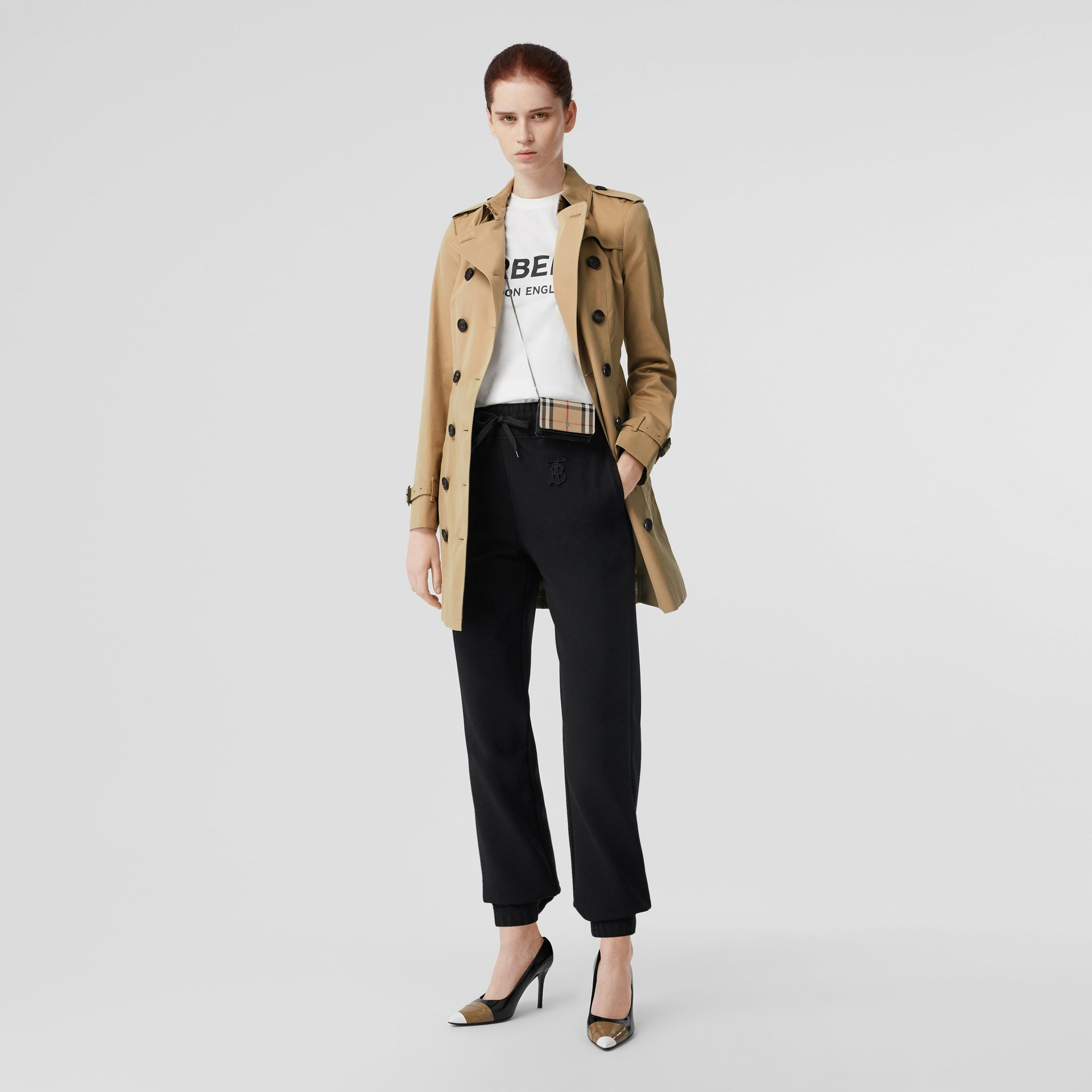 The Sandringham – Mid-length Trench Coat in Honey - Women | Burberry United States - gallery image 0
