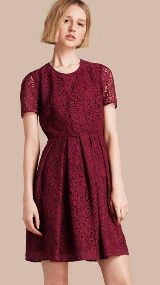 Italian Lace A-line Dress