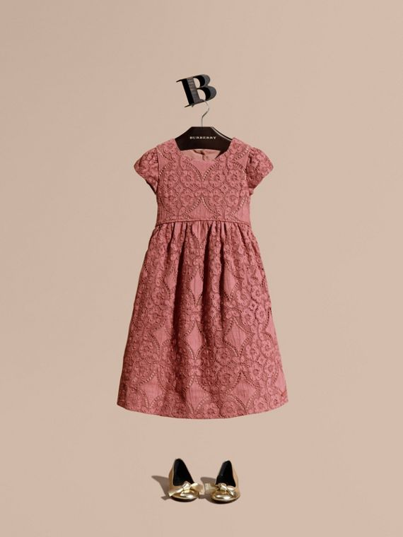 English Floral Lace Dress