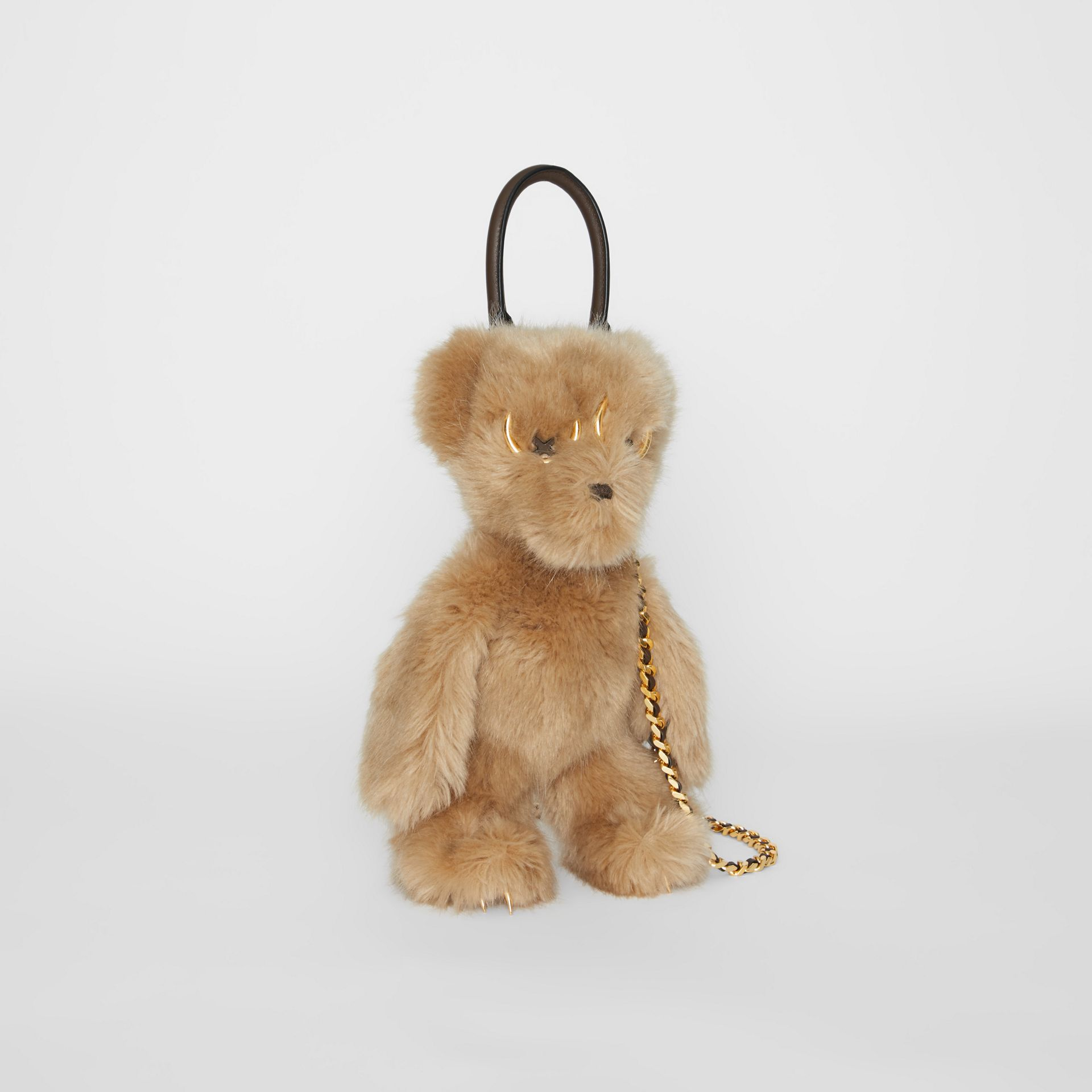 The Thomas Bear Shoulder Bag in Beige - Women | Burberry - gallery image 8