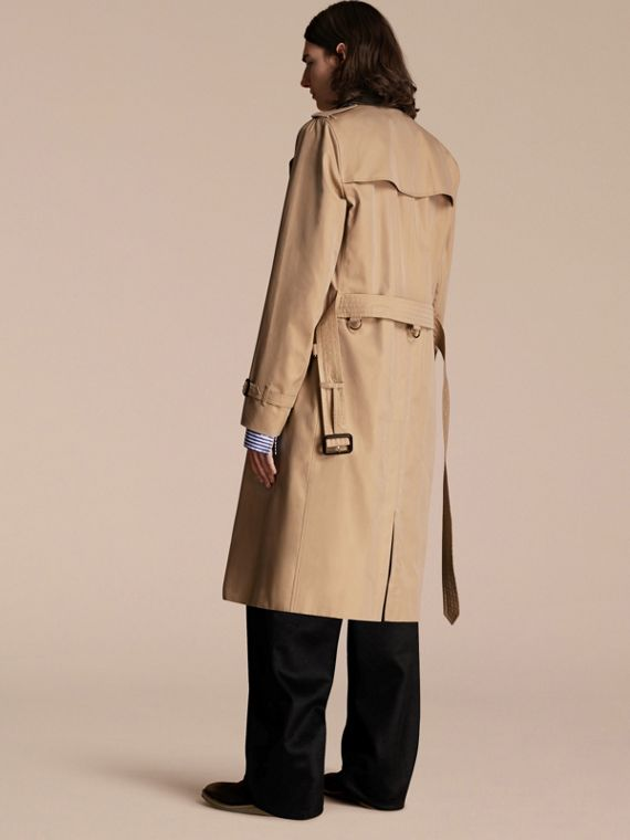 Honey Deconstructed Cotton Gabardine Heritage Trench Coat - cell image 2