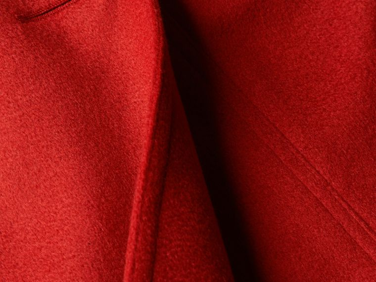 Parade red Trench coat de cashmere com corte Sandringham Parade Red - cell image 1