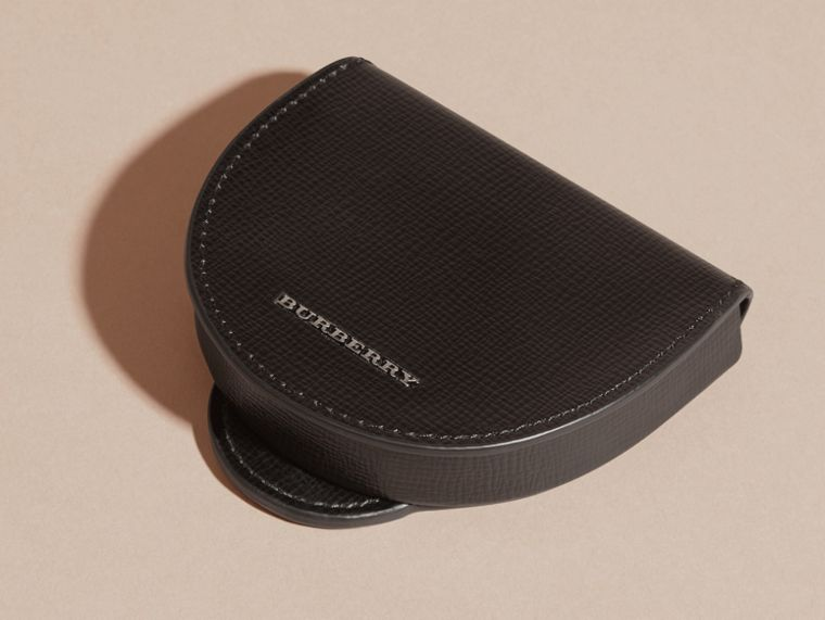 London Leather Coin Case in Black - cell image 4