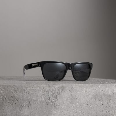 Doodle Square Frame Sunglasses by Burberry