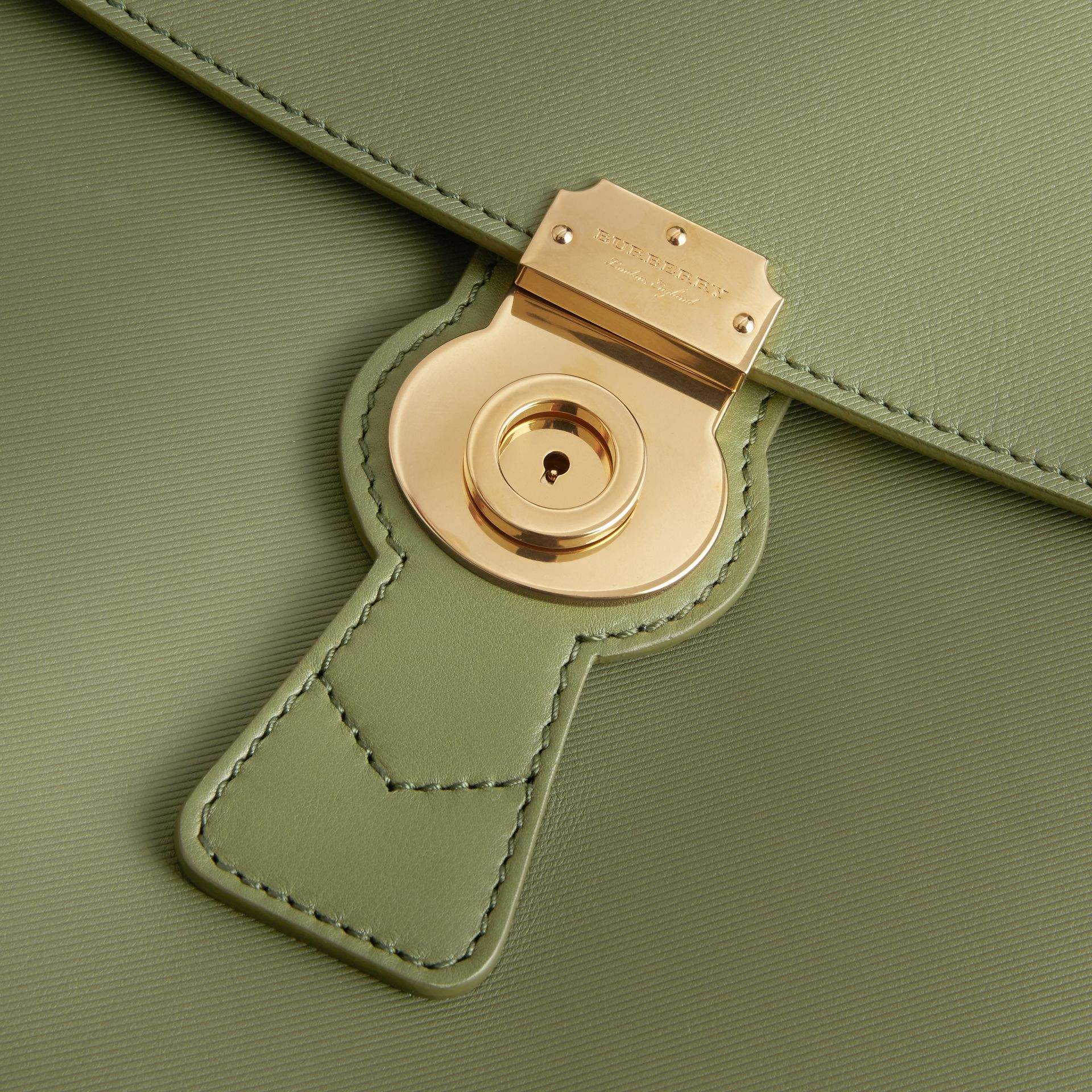 The Large DK88 Top Handle Bag Moss Green - gallery image 2