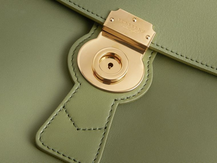 The Large DK88 Top Handle Bag Moss Green - cell image 1