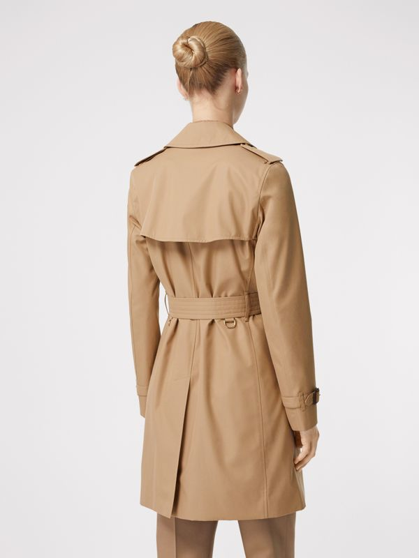 Cotton Gabardine Trench Coat in Biscuit - Women | Burberry - cell image 2