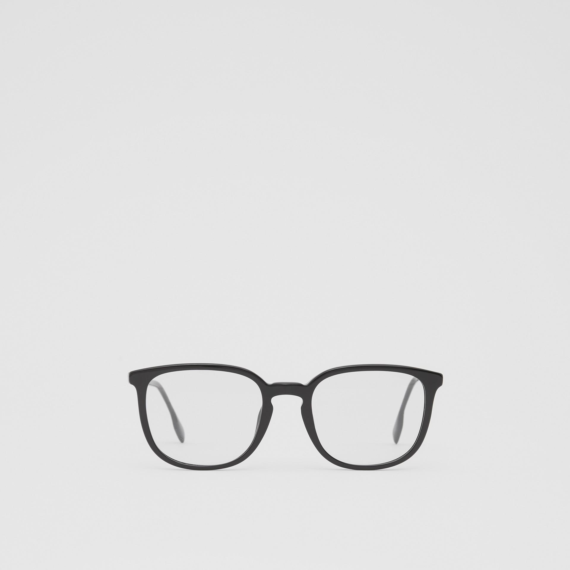 Gafas de ver con montura cuadrada (Negro)   Burberry - imagen de la galería 0
