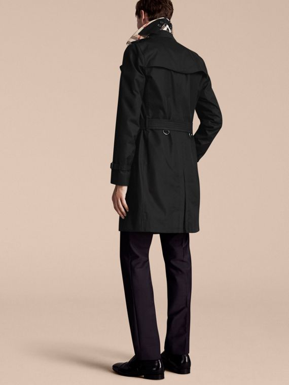Negro Trench coat Sandringham - Trench coat Heritage largo Negro - cell image 2