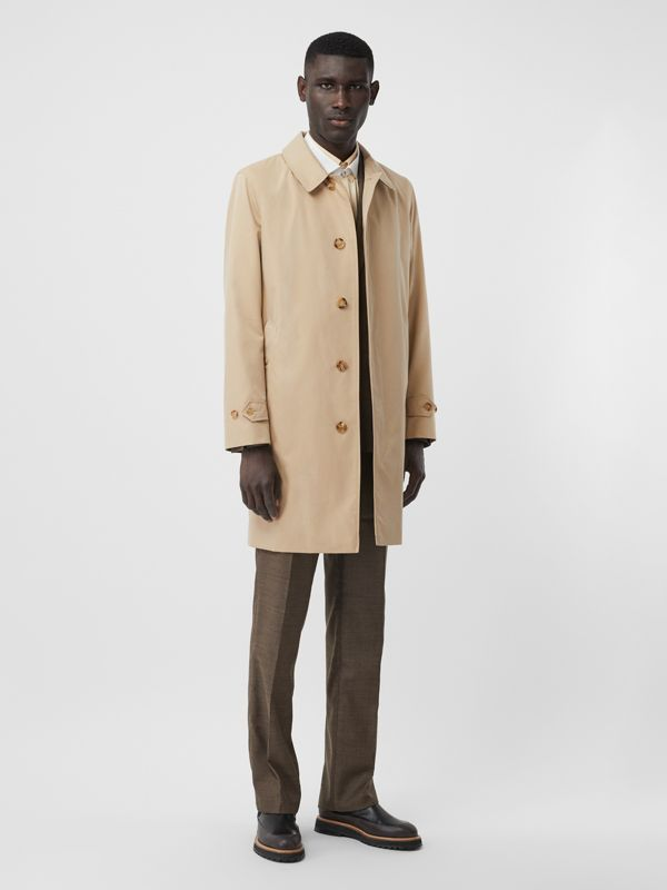 The Pimlico Heritage Car Coat in Honey - Men | Burberry - cell image 2