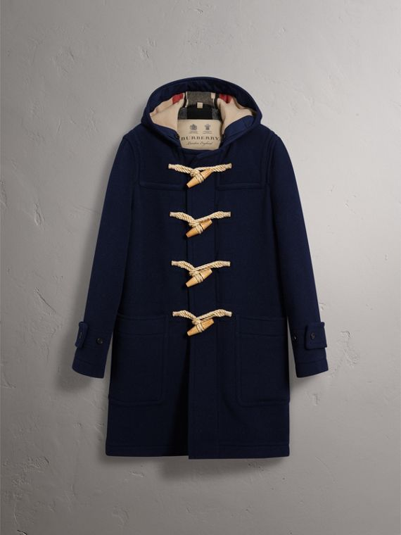 The Greenwich Duffle Coat in Navy - Men | Burberry Singapore - cell image 3