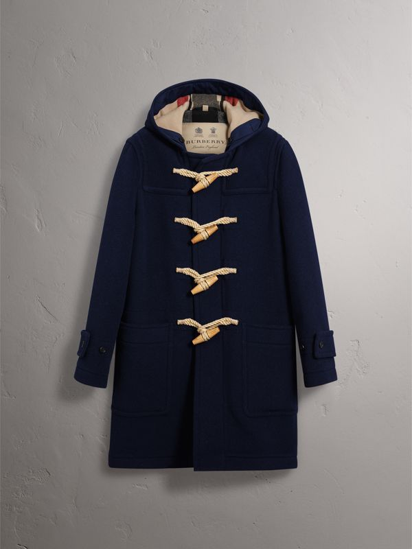 The Greenwich Duffle Coat in Navy - Men | Burberry - cell image 3