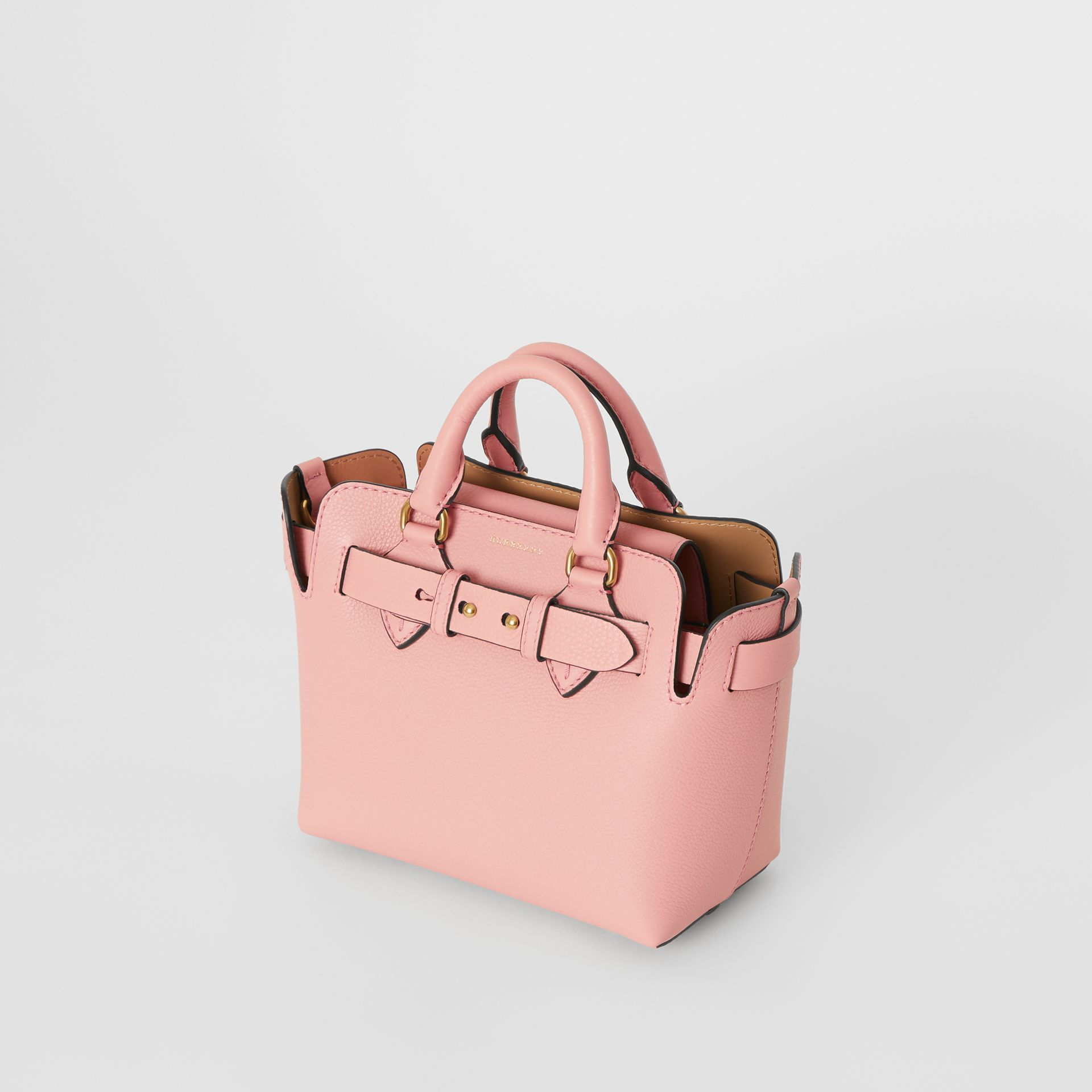 Borsa The Belt mini in pelle (Rosa Cenere) - Donna | Burberry - immagine della galleria 4