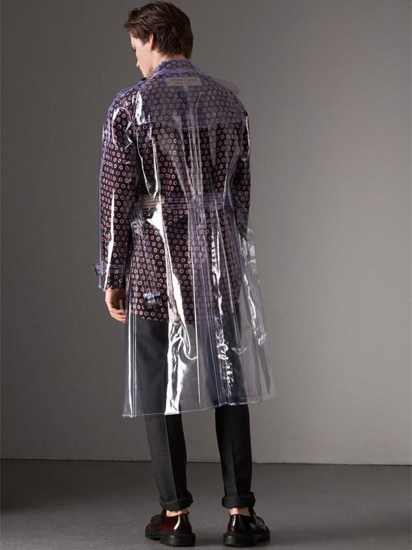 Trench coat in plastica (Cristallo) - Uomo | Burberry - cell image 2