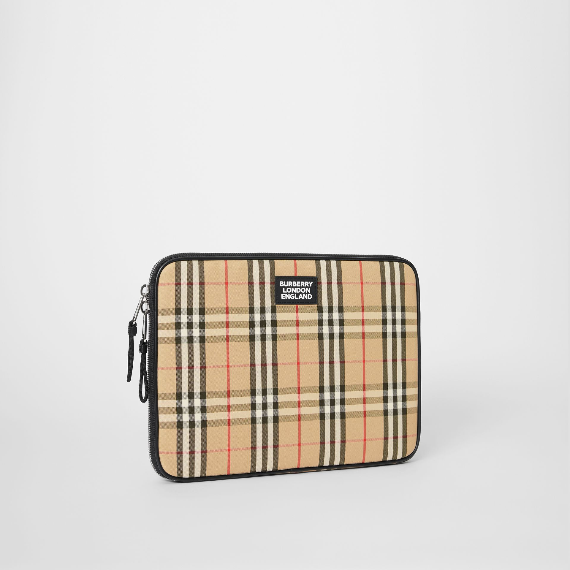 Vintage Check Digital Case in Archive Beige - Men | Burberry Australia - gallery image 4