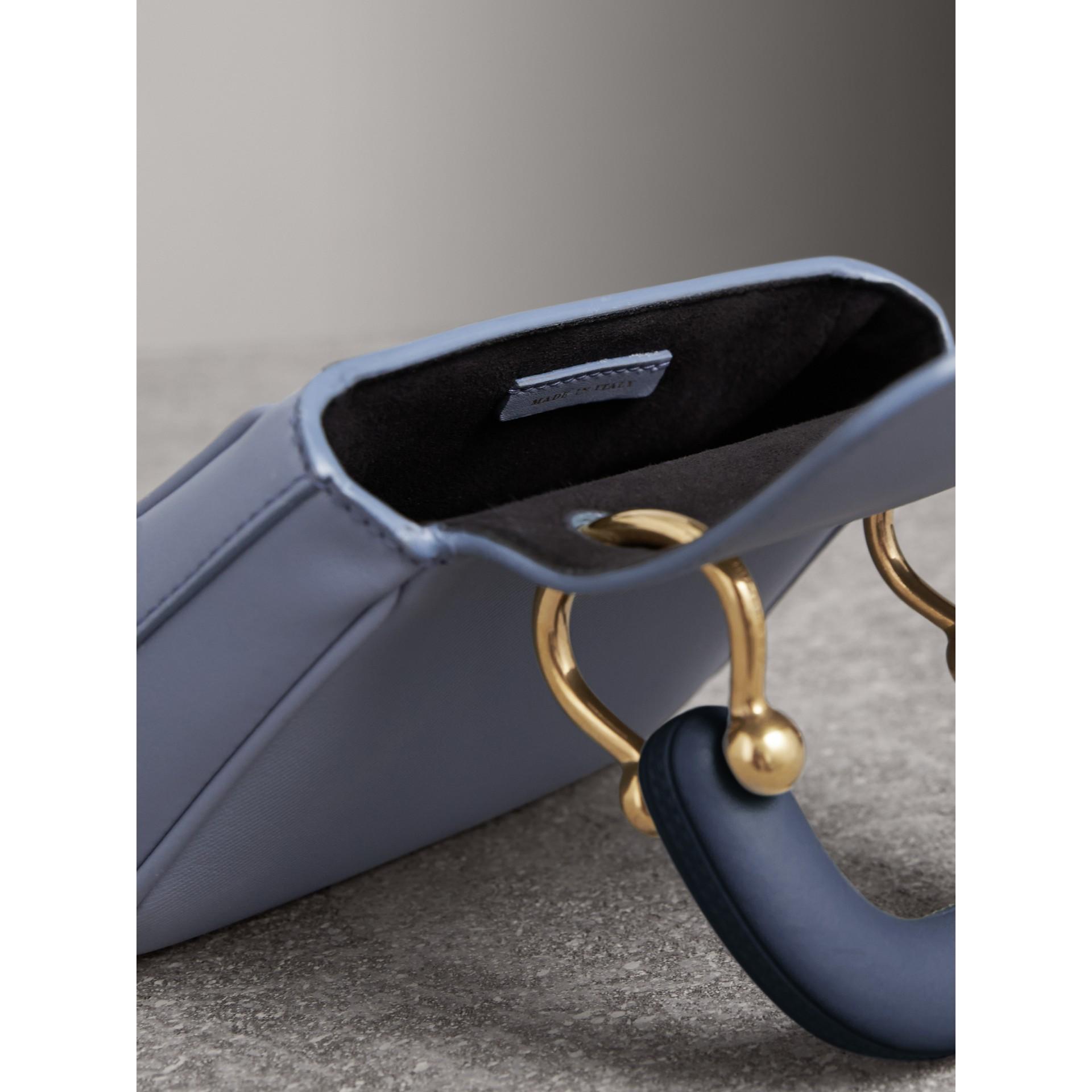 The Mini DK88 Top Handle Bag in Slate Blue - Women | Burberry - gallery image 6