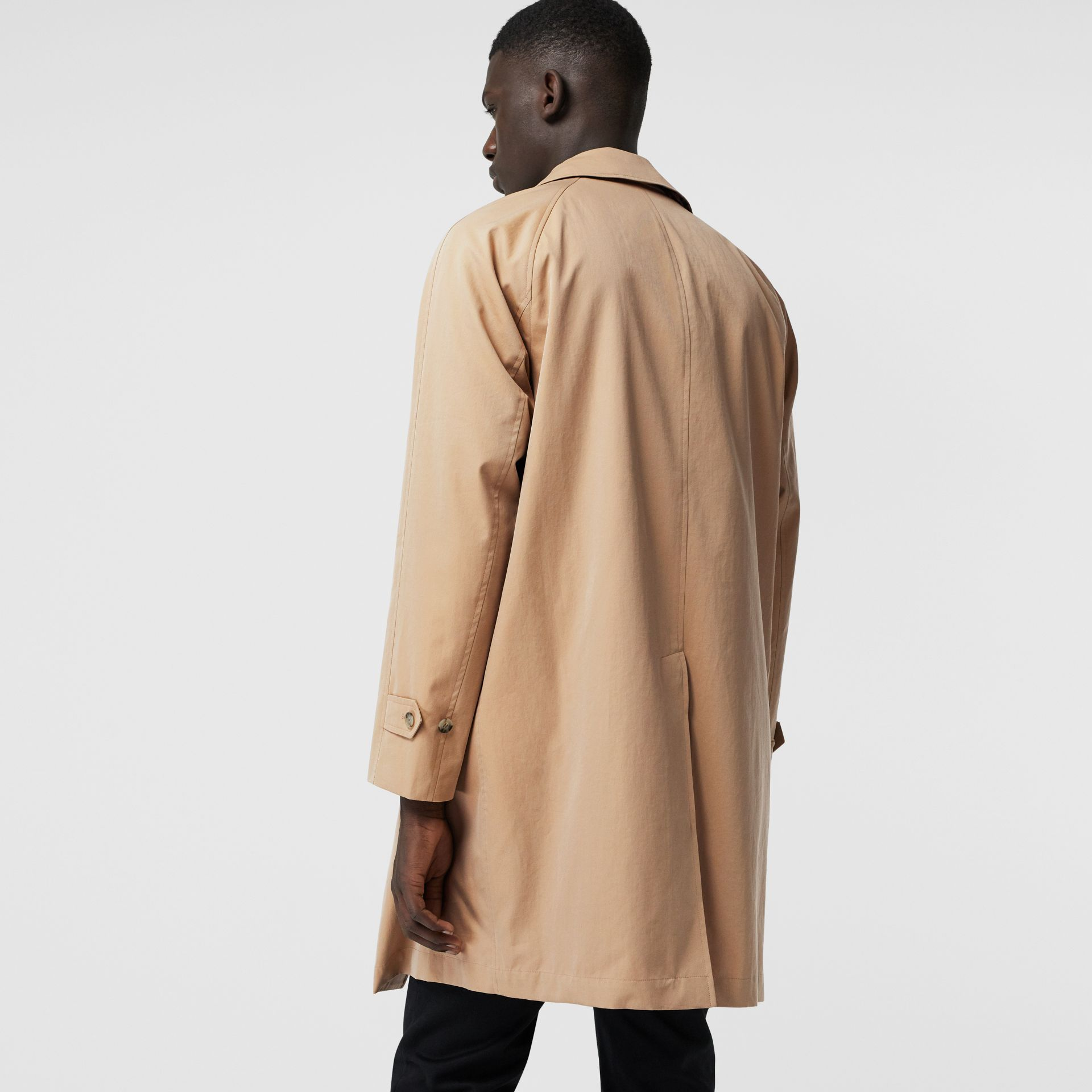 The Camden Car Coat in Honey - Men | Burberry United States - gallery image 2