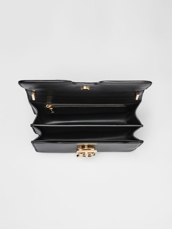 Small Leather TB Bag in Black - Women | Burberry - cell image 3
