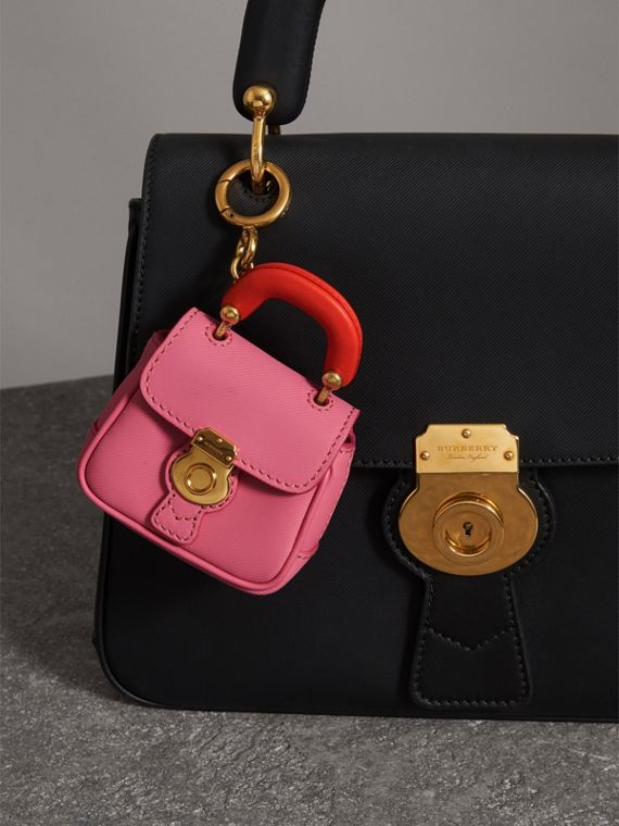 The DK88 Charm in Rose Pink/orange Red | Burberry Hong Kong - cell image 2