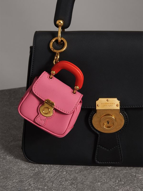 The DK88 Charm in Rose Pink/orange Red | Burberry United Kingdom - cell image 2