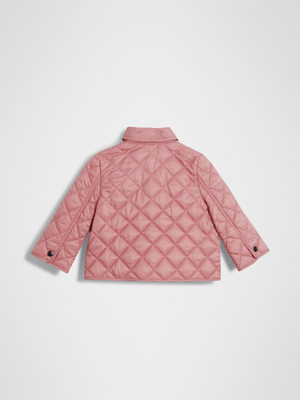 Lightweight Diamond Quilted Jacket in Pale Ash Rose - Children | Burberry United States - cell image 3
