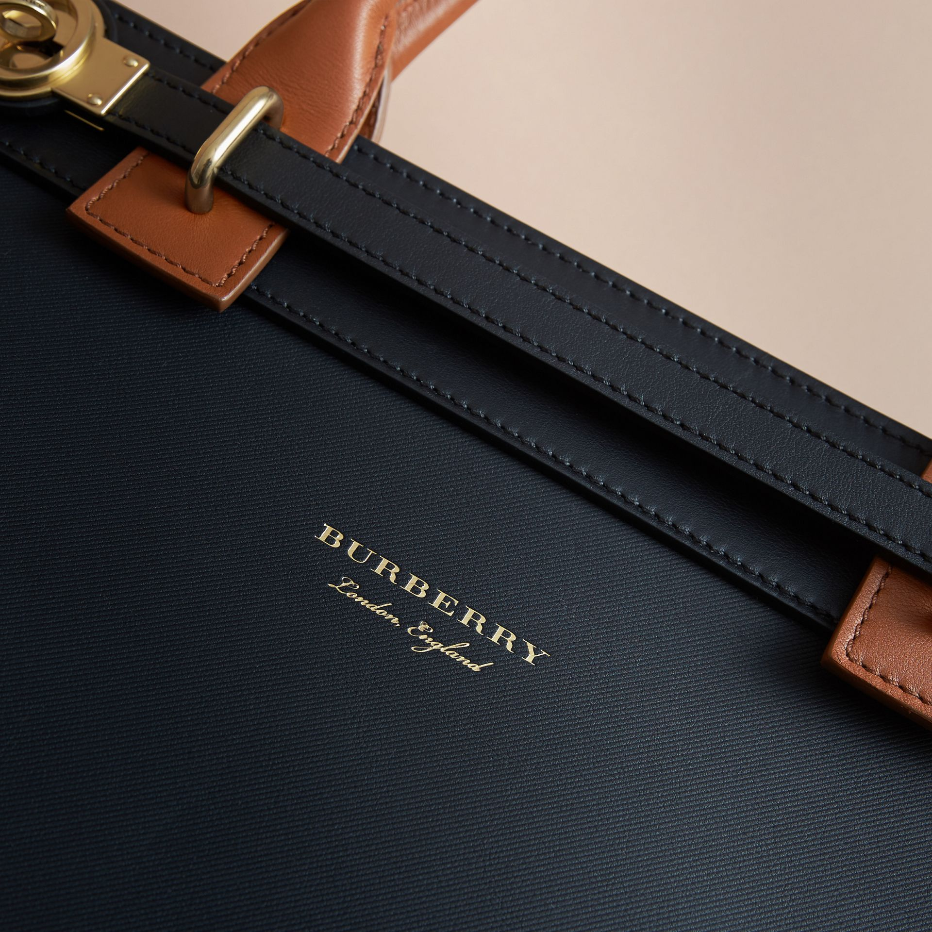 The DK88 Luggage Bag in Black - Men | Burberry United Kingdom - gallery image 2