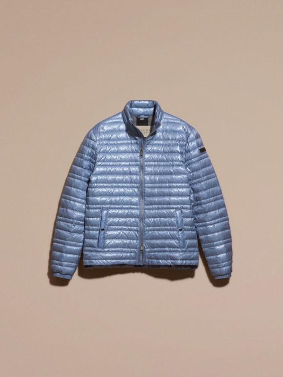 Pale blue Lightweight Down-filled Jacket Pale Blue - cell image 3