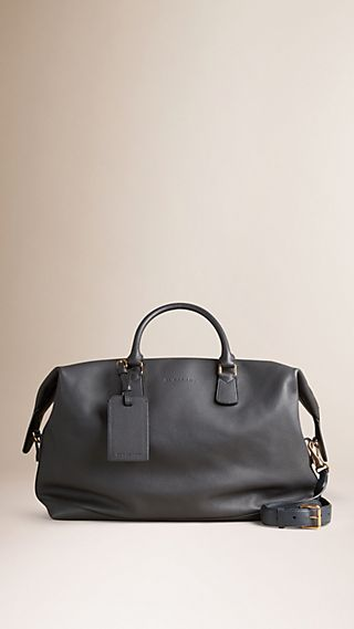 Grainy Leather Holdall