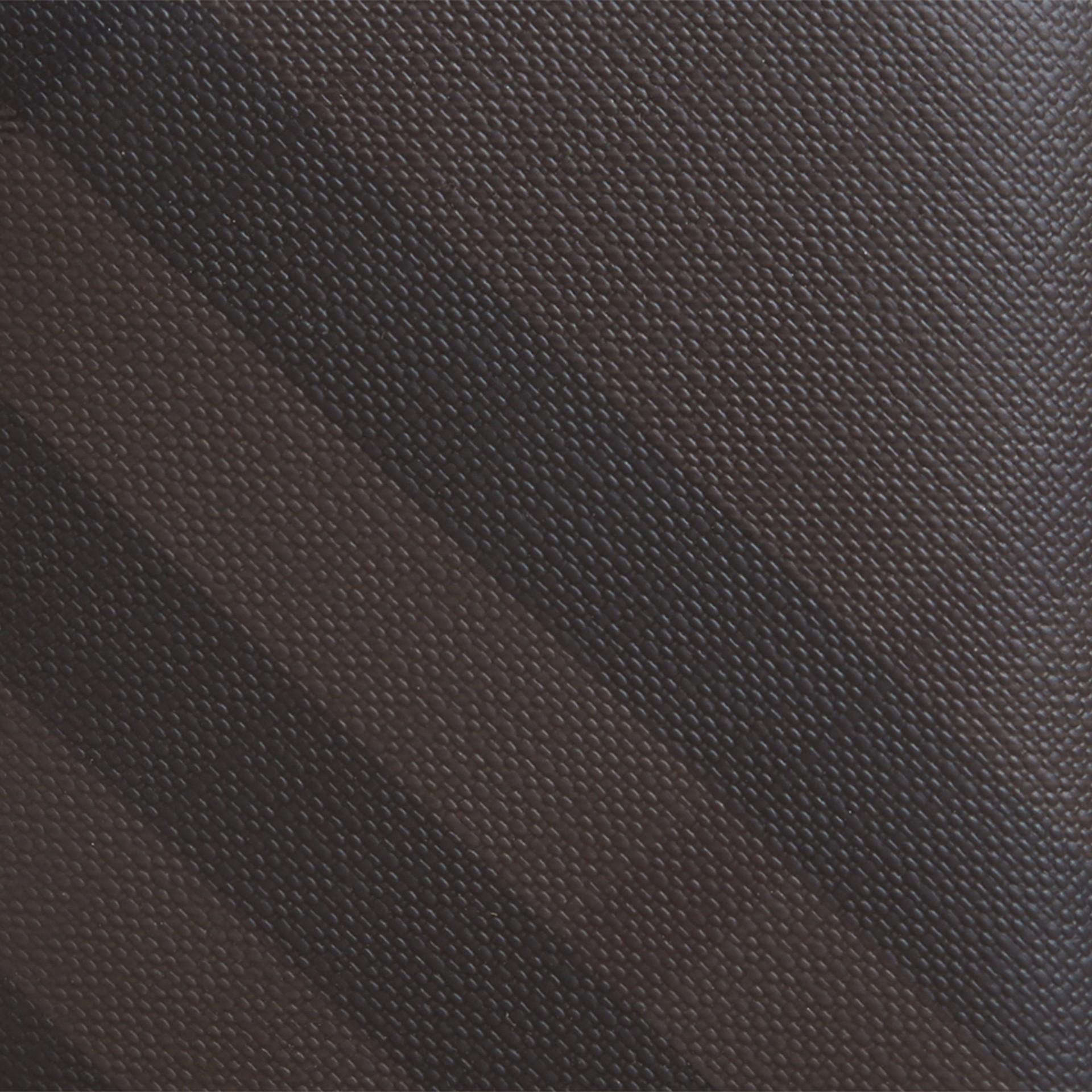 초콜릿/블랙 스모크 체크 아이디 지갑 초콜릿/블랙 - 갤러리 이미지 2