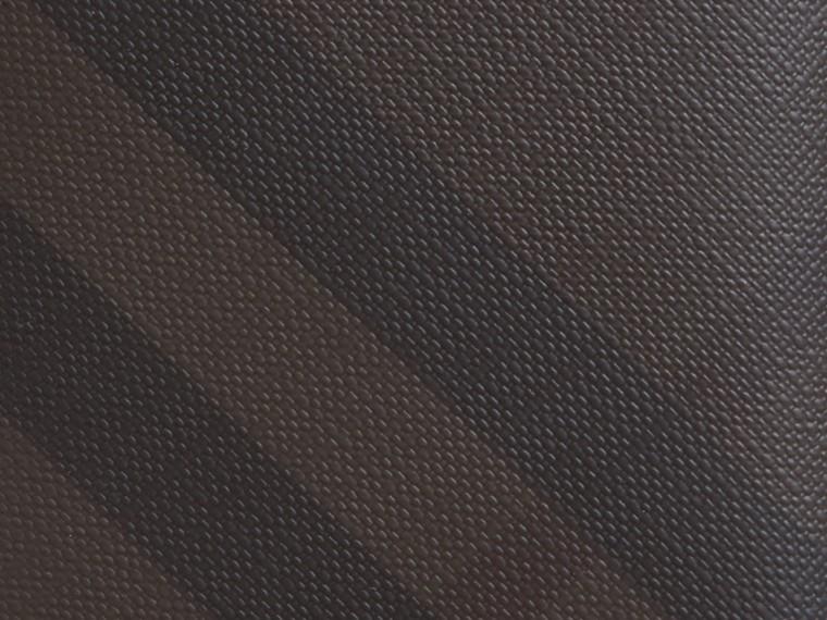 초콜릿/블랙 스모크 체크 아이디 지갑 초콜릿/블랙 - cell image 1