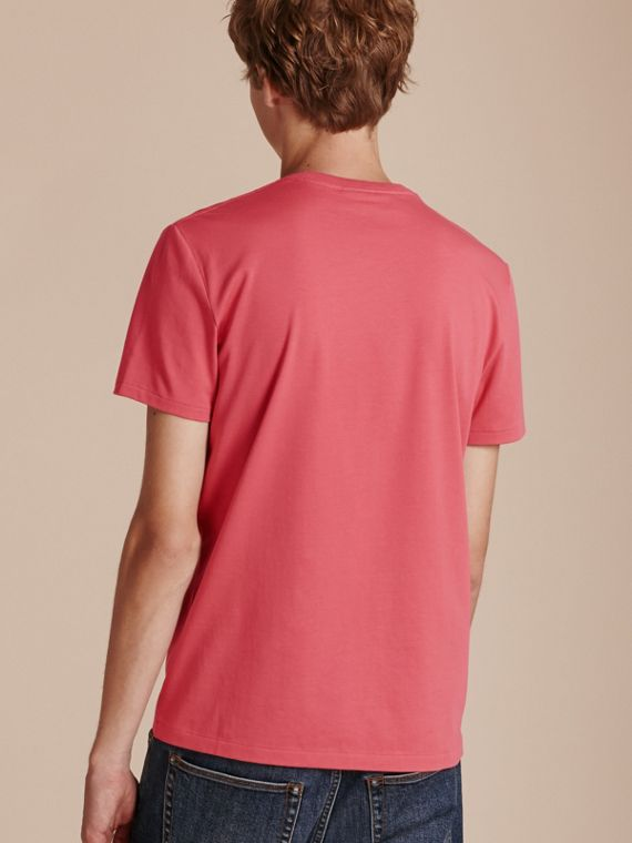 Cotton Jersey T-shirt Dusky Pink - cell image 2