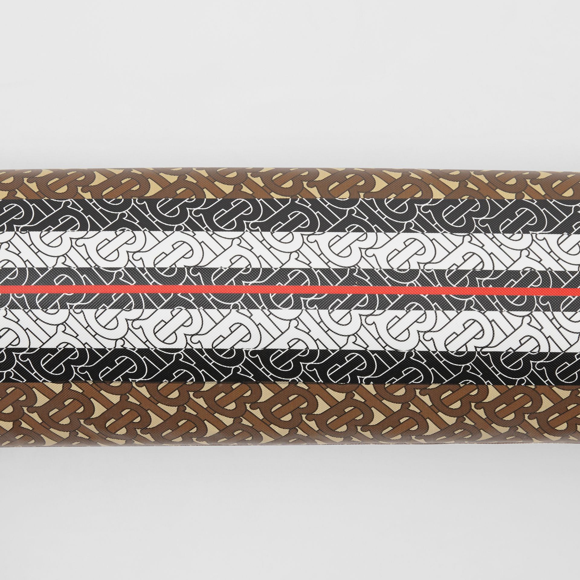 Liforme x Burberry Monogram Motif Yoga Mat in Bridle Brown | Burberry - gallery image 1