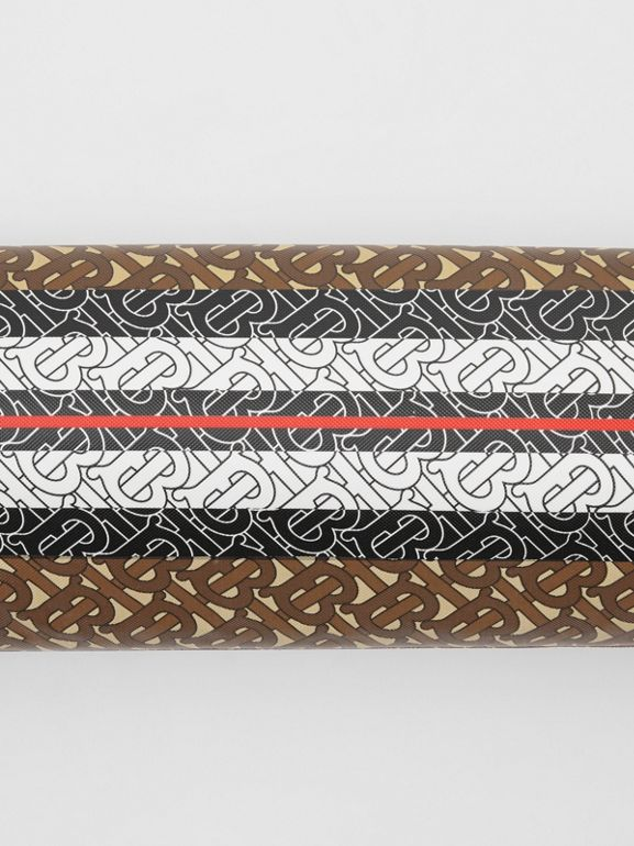 Liforme x Burberry Monogram Motif Yoga Mat in Bridle Brown | Burberry Australia - cell image 1