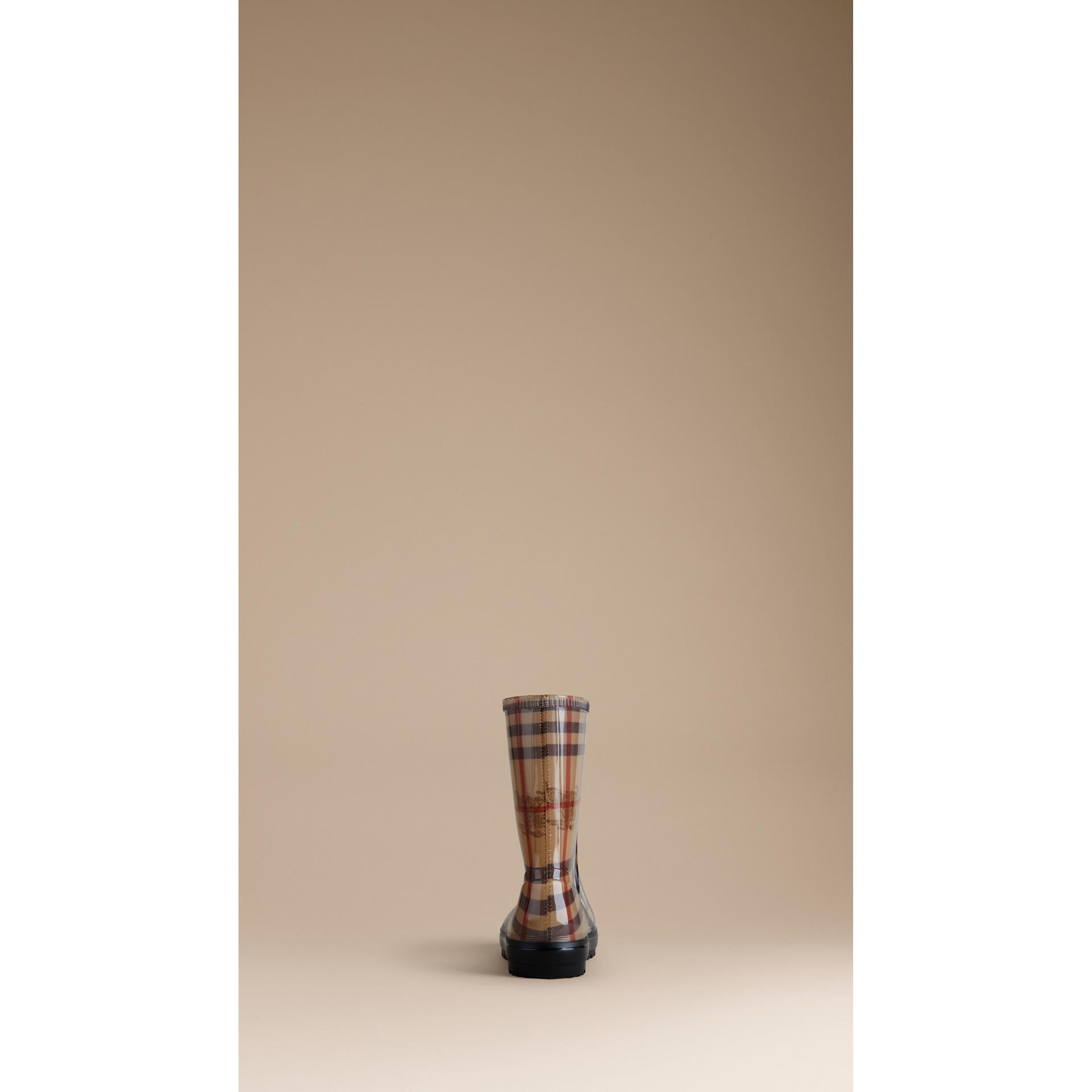 Haymarket Check Rain Boots - gallery image 2
