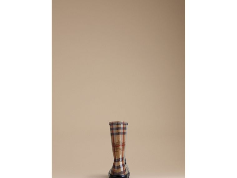 Haymarket Check Rain Boots - cell image 1