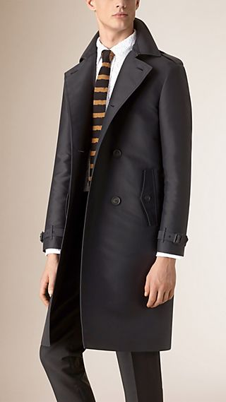 Lightweight Technical Trench Coat