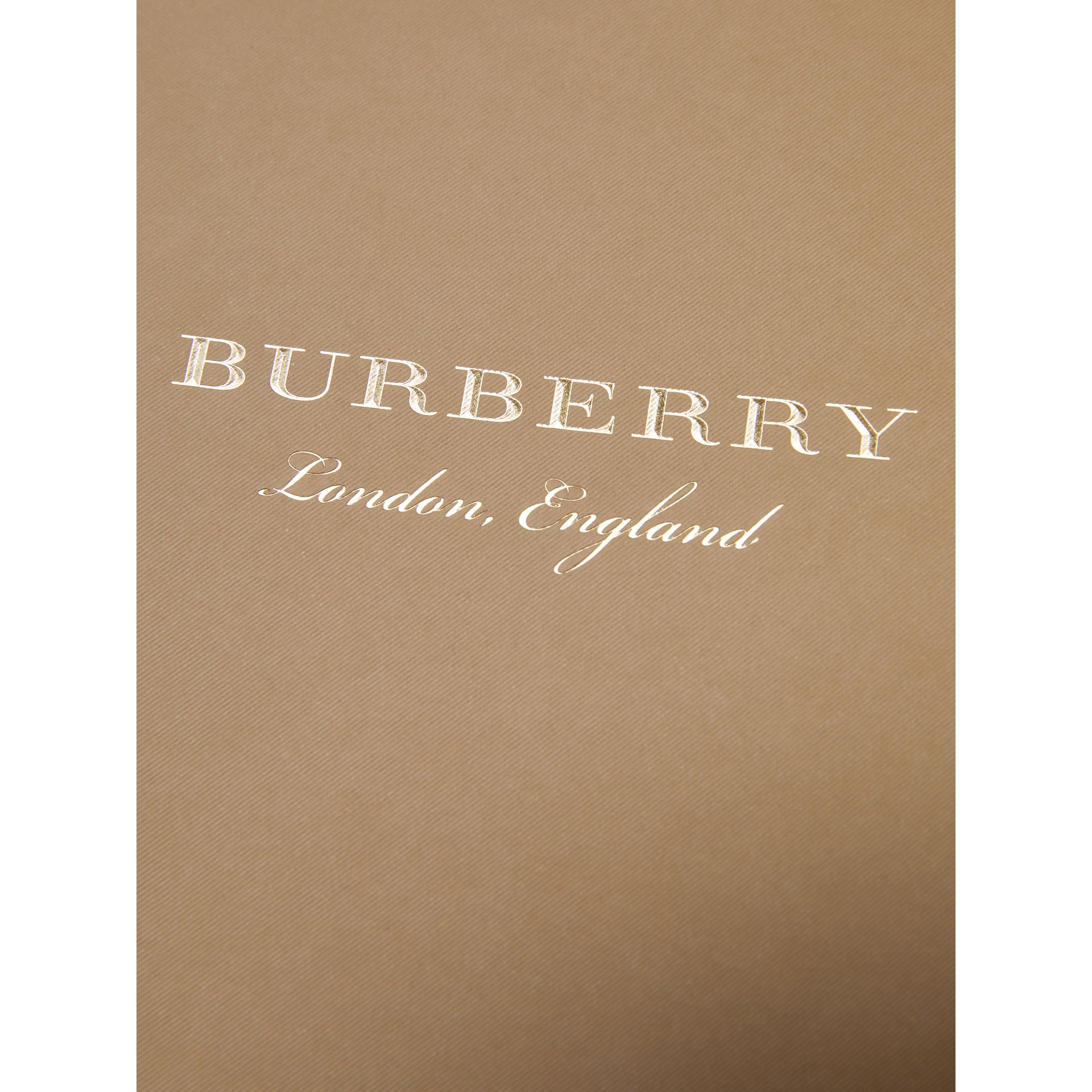 2018 A5 Diary Refill in Honey | Burberry Singapore - gallery image 1
