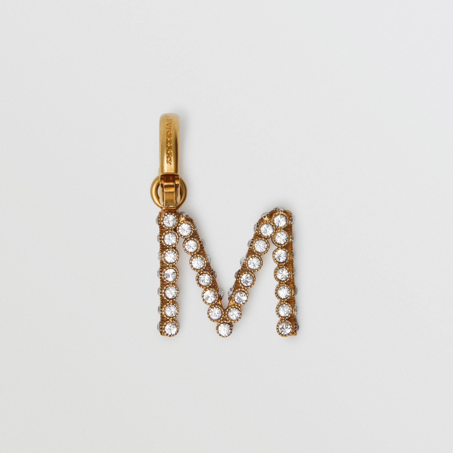 Crystal 'M' Alphabet Charm - Women | Burberry - gallery image 0