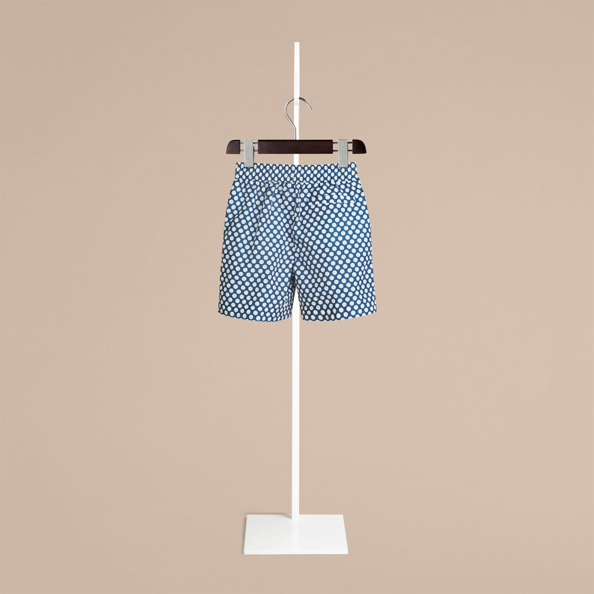 Lupin blue Polka Dot Print Swim Shorts Lupin Blue - gallery image 2