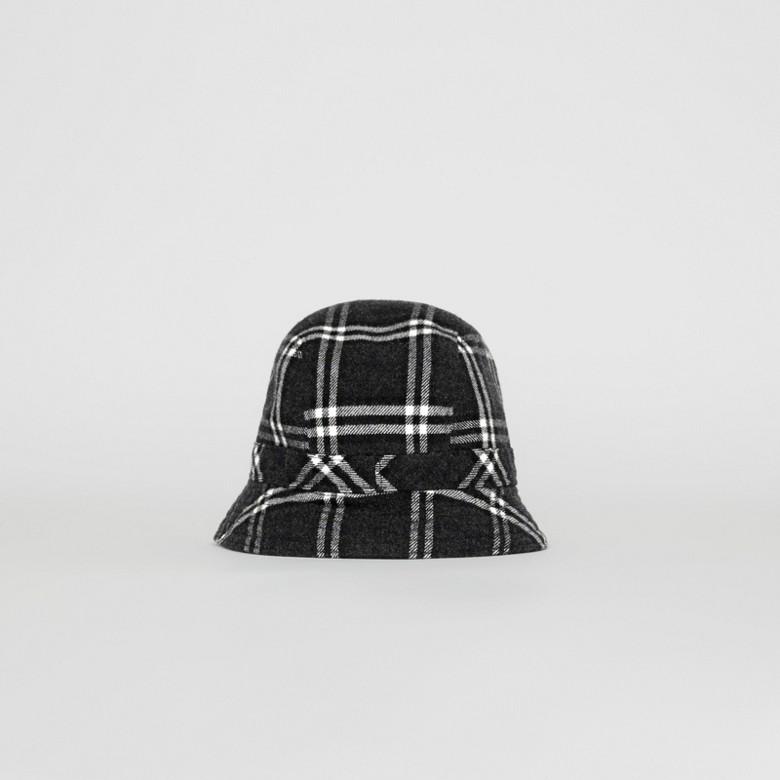 Burberry - Gosha x Burberry Check Flannel Bucket Hat - 7